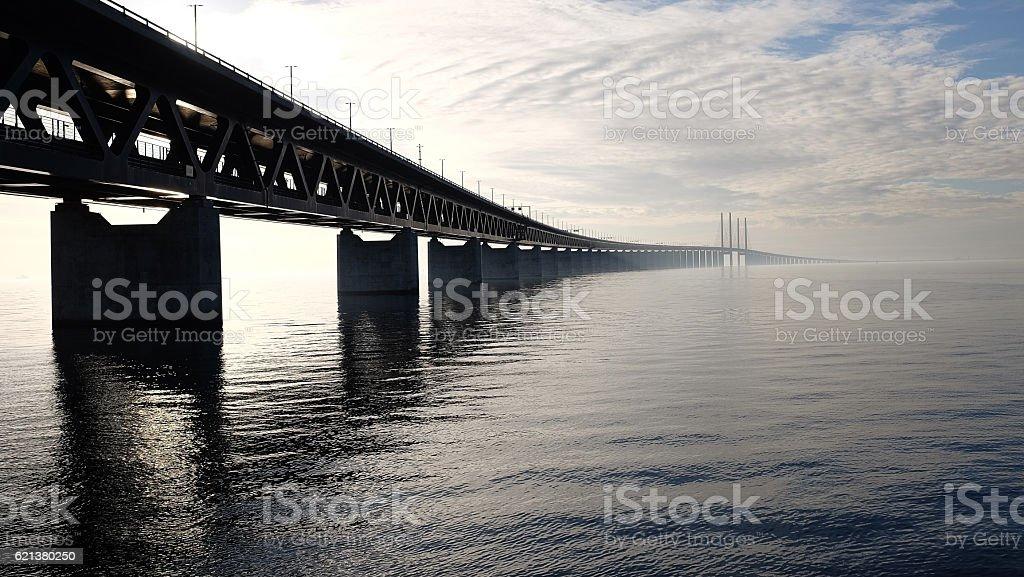 Øresund Bridge stock photo