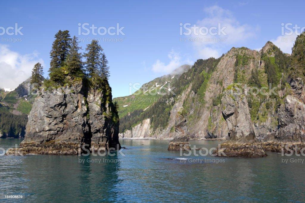 Resurrection Bay stock photo