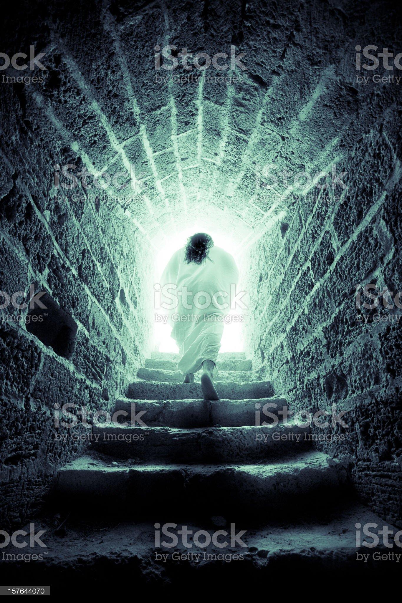 Resurrection of Jesus Christ royalty-free stock photo