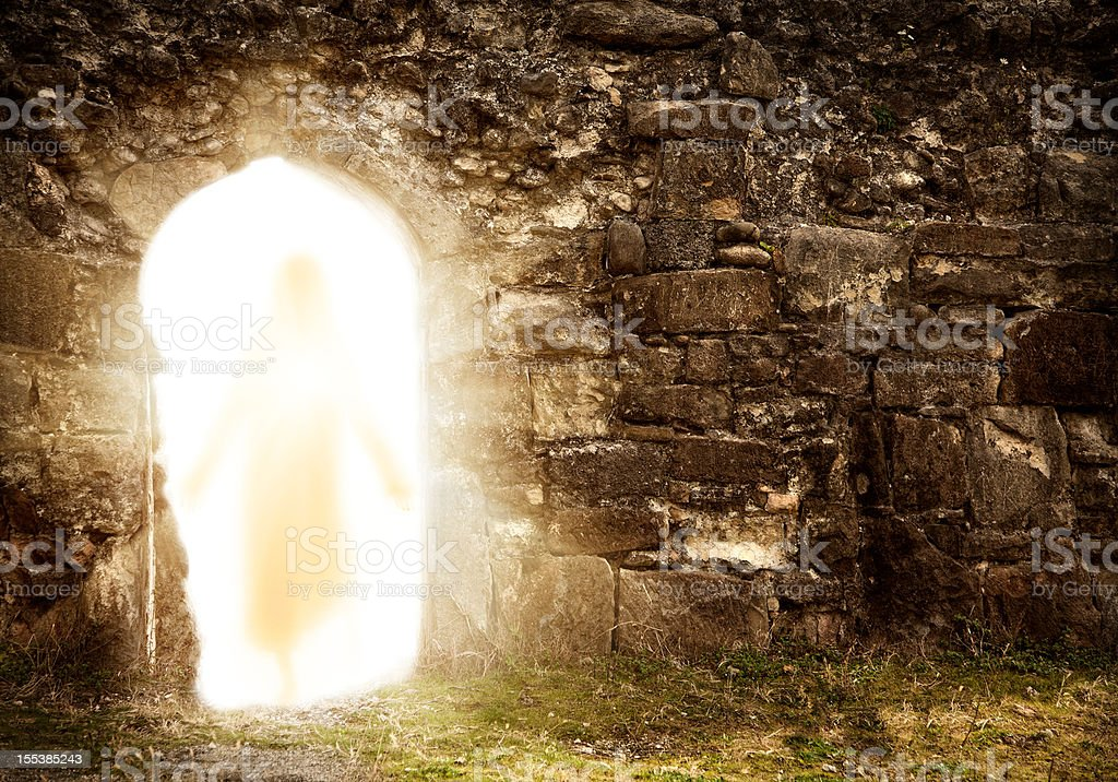 Resurrection stock photo