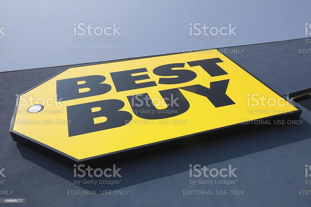 Retail Best Buy stock photo