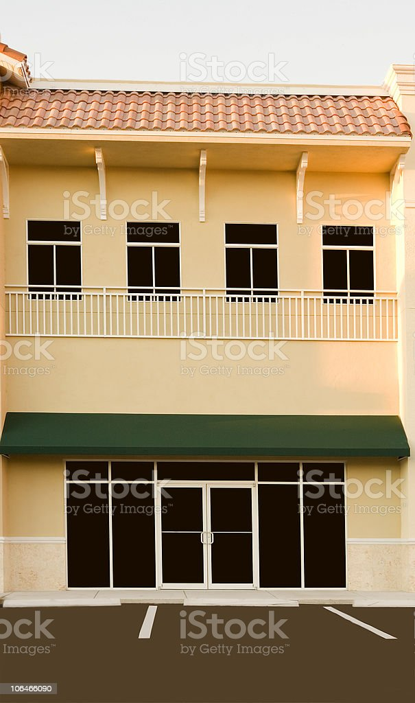 Retail Building royalty-free stock photo