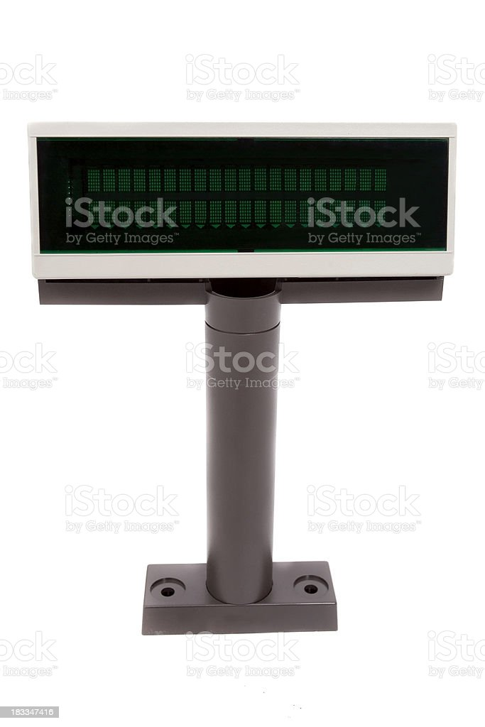 Retail Customer Display royalty-free stock photo
