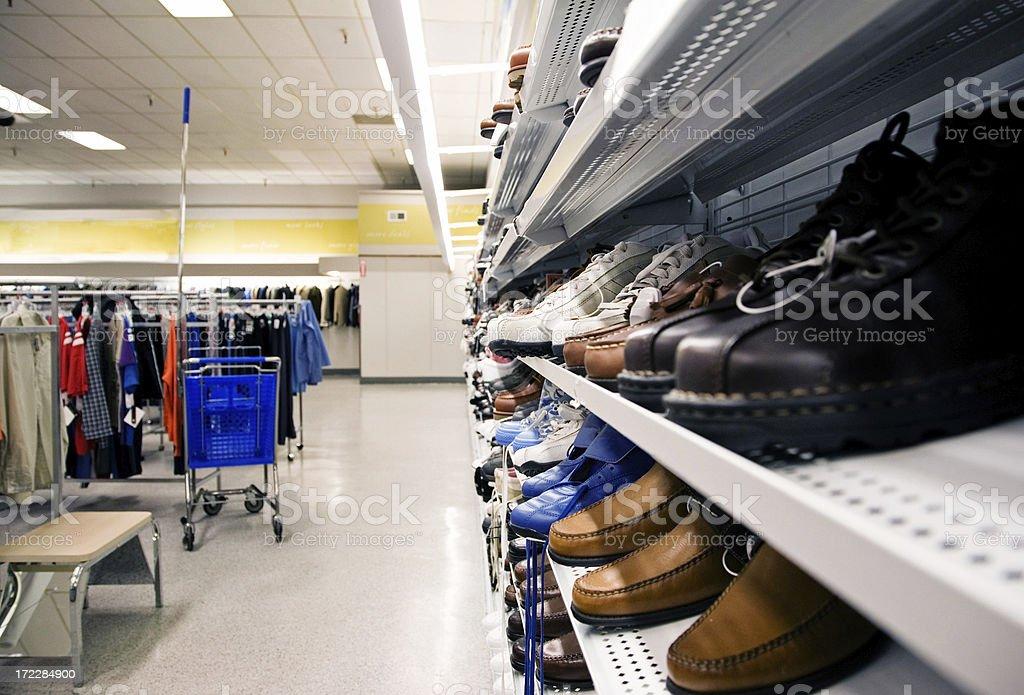 Retail Store Interior royalty-free stock photo