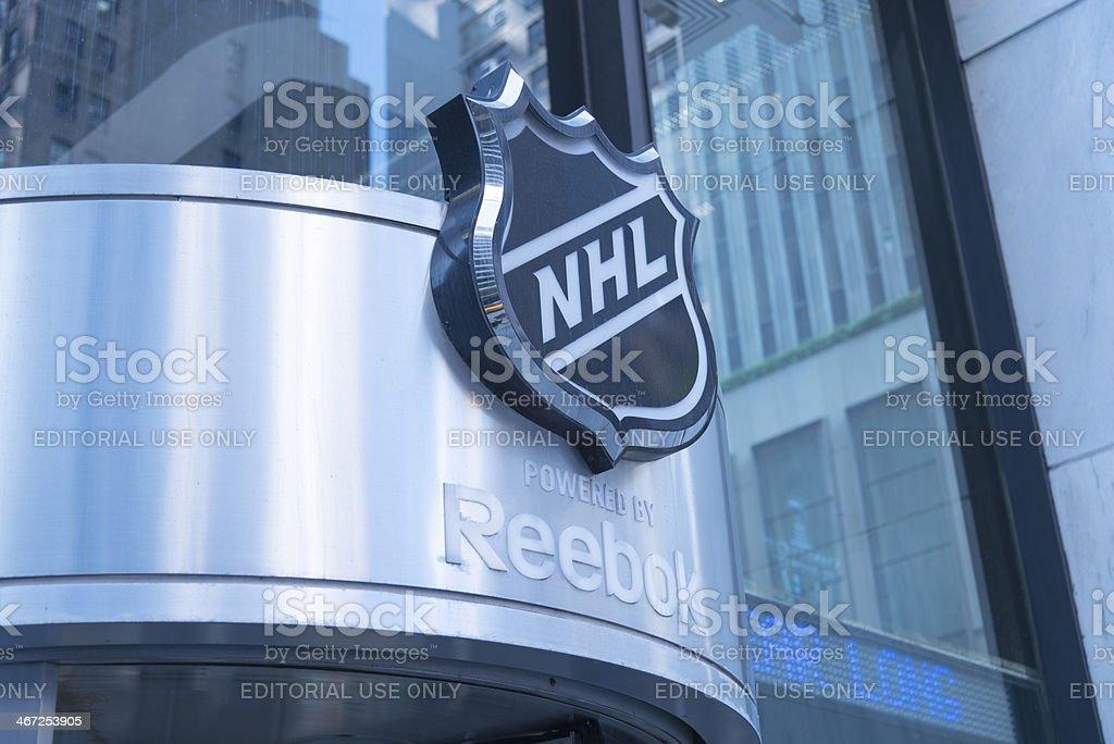 NHL retail store stock photo
