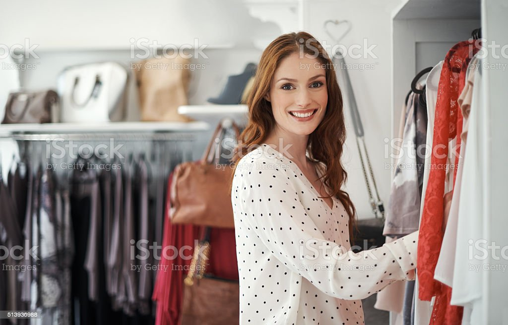 Retail therapy cures all! stock photo