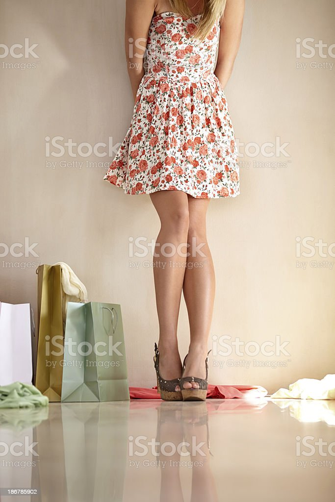 Retail therapy royalty-free stock photo