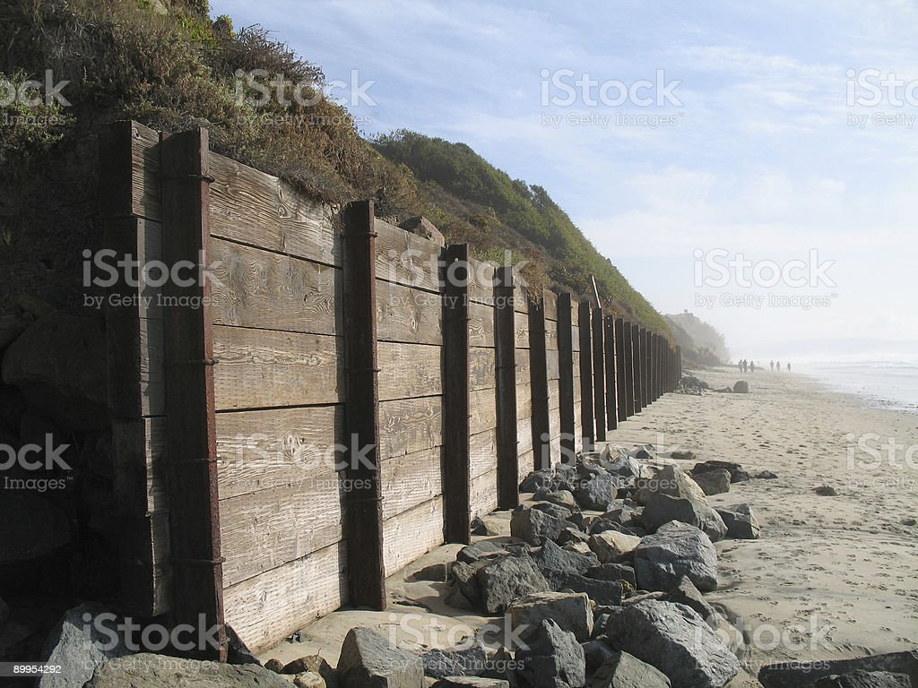 retaining wall royalty-free stock photo