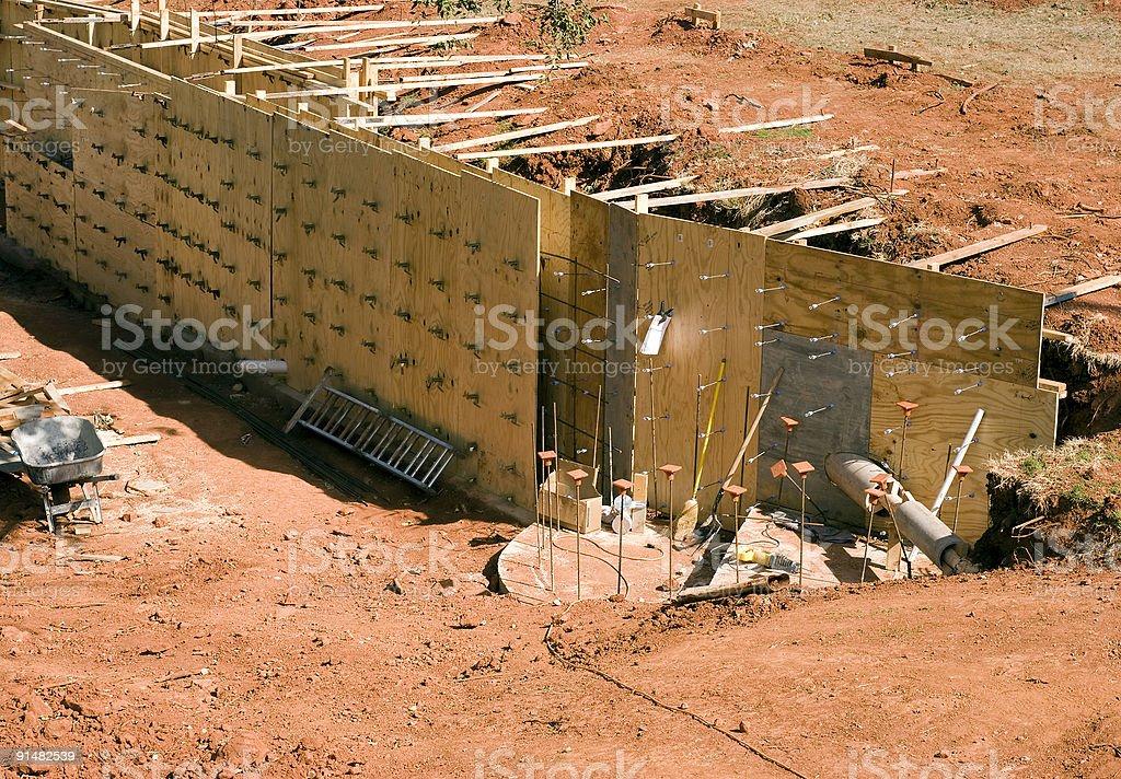 Stützmauer Lizenzfreies stock-foto
