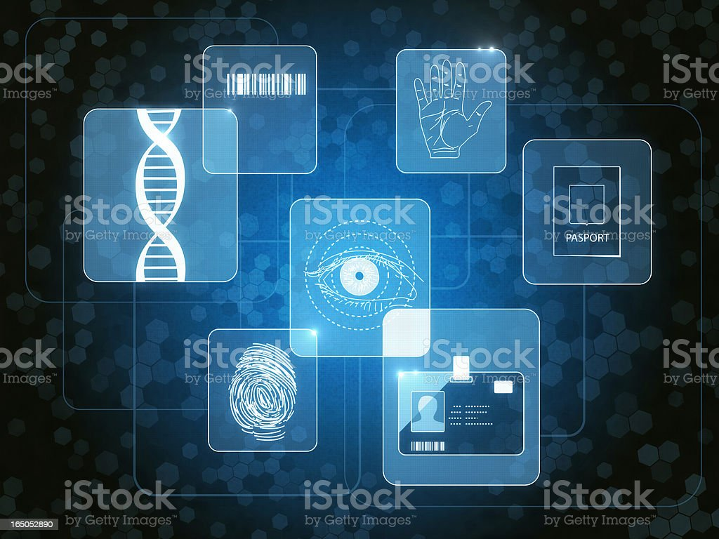 Retina Lock stock photo