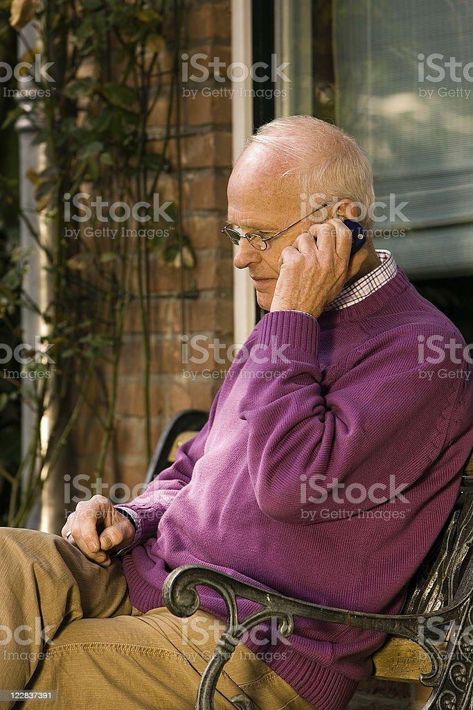 retired call stock photo