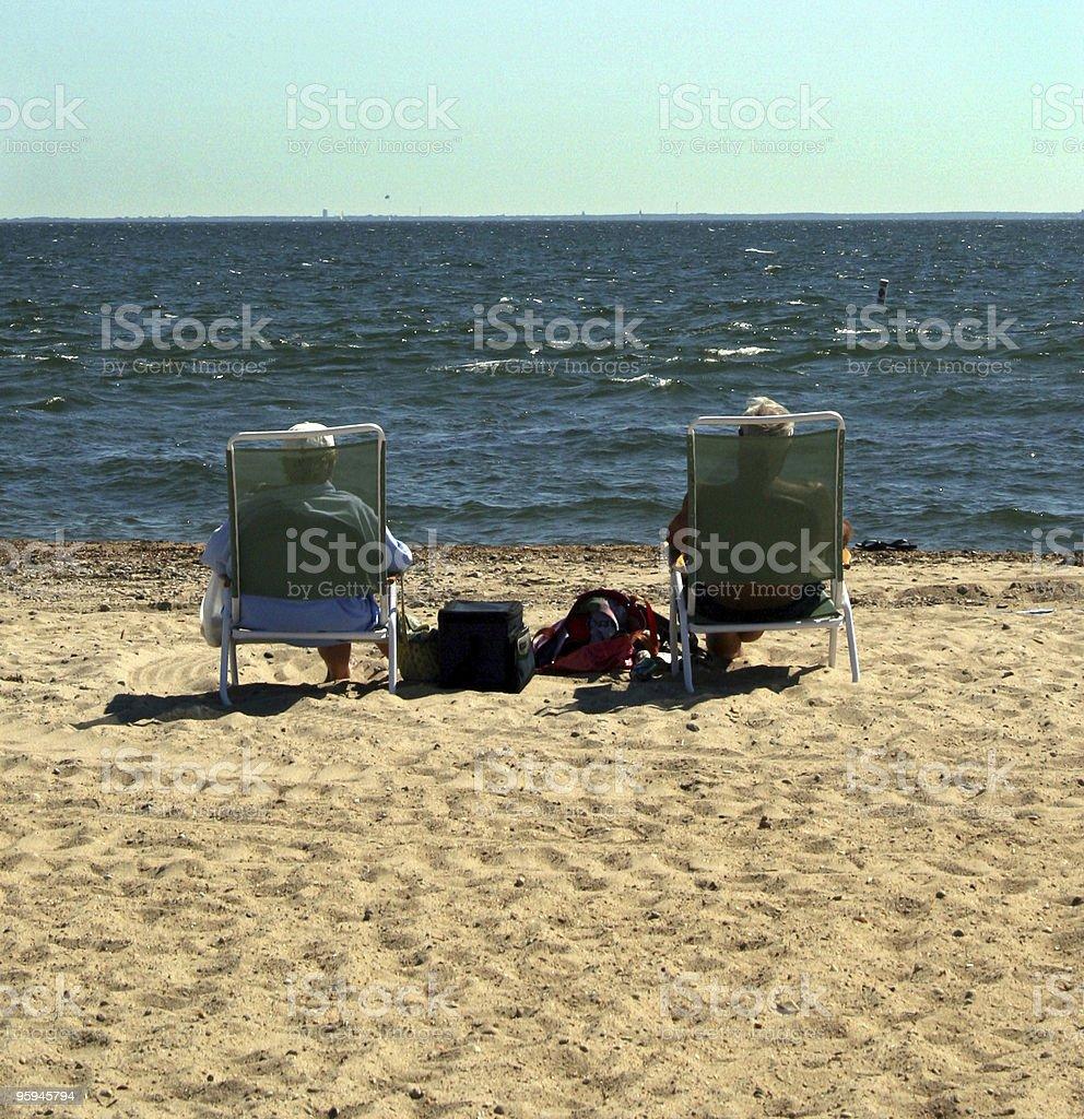 Couple à la retraite photo libre de droits