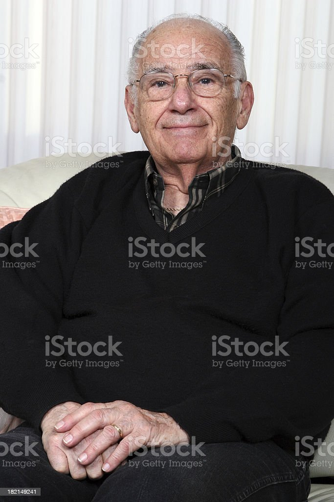Retired Gentleman royalty-free stock photo