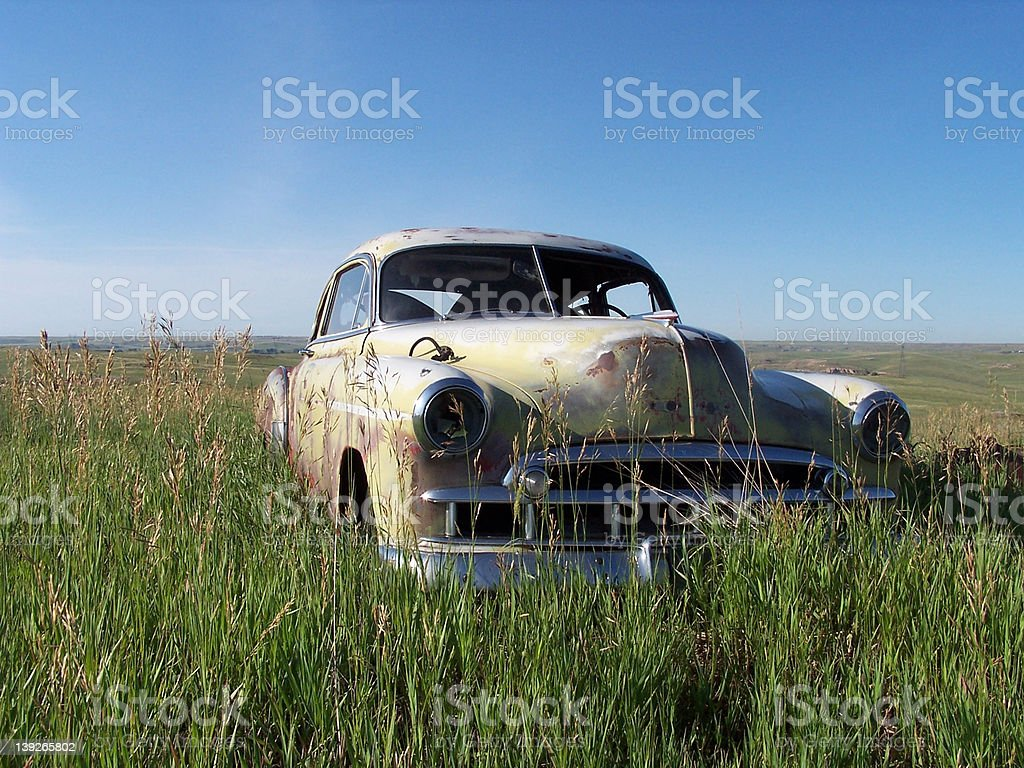 Retired Ride royalty-free stock photo