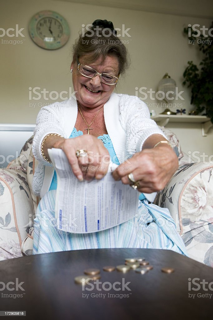 retirement: anger management royalty-free stock photo