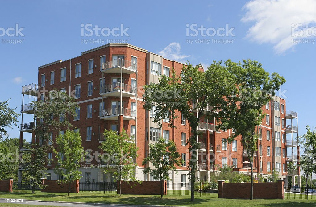 Retirement Condominiums stock photo