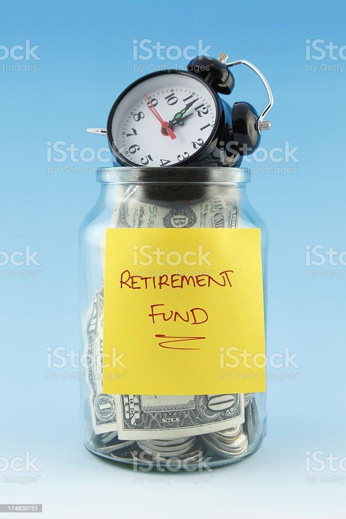Retirement Deadline royalty-free stock photo