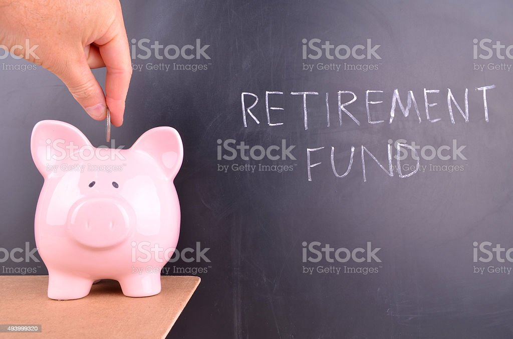 Retirement Fund stock photo