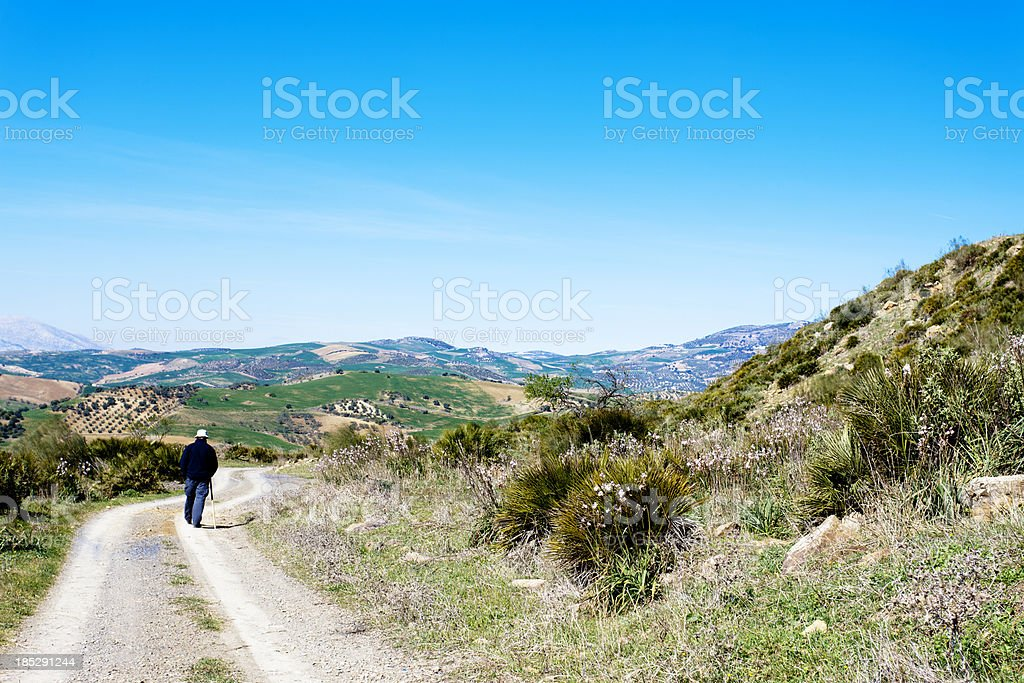 Retirement in Andalusia royalty-free stock photo