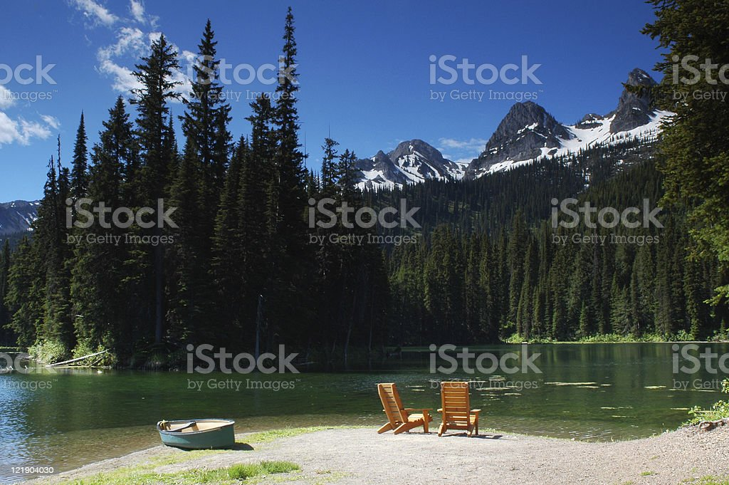 Retirement Paradise royalty-free stock photo