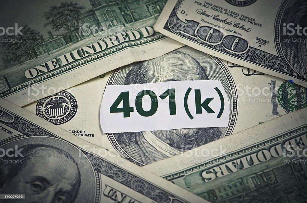 401K Retirement royalty-free stock photo