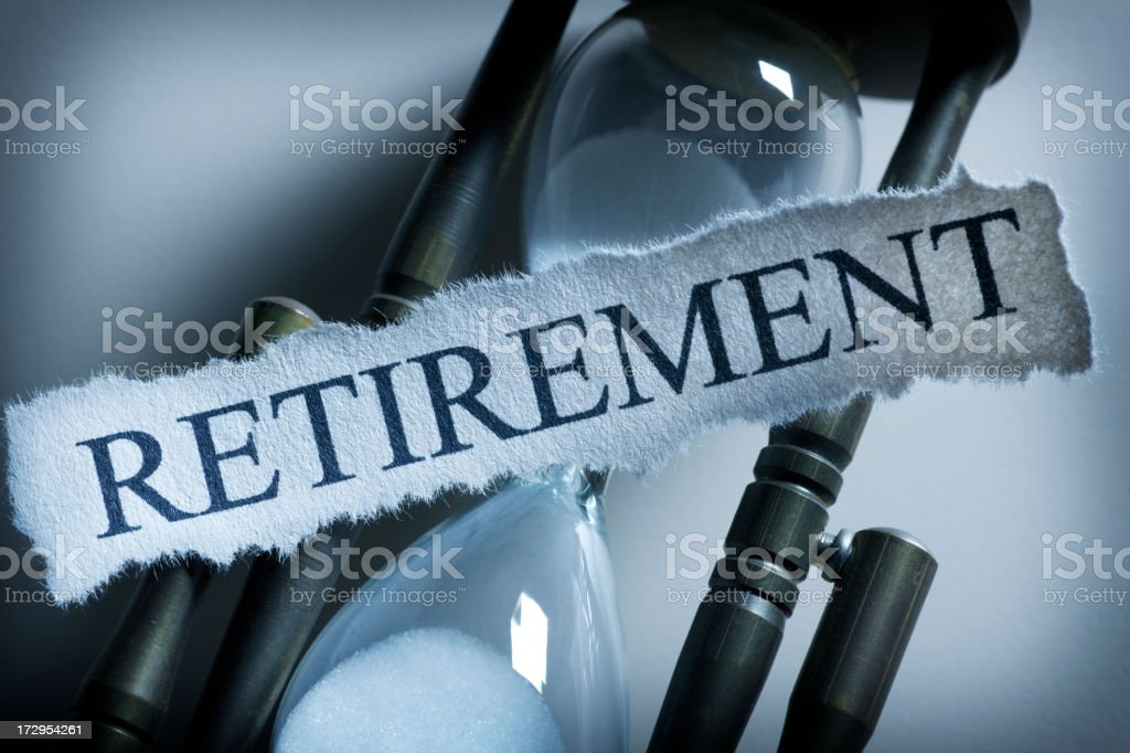 Retirement royalty-free stock photo