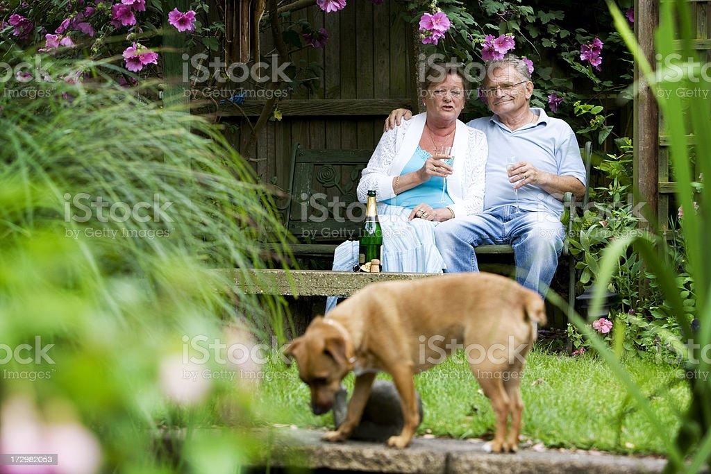 retirement: retired life royalty-free stock photo