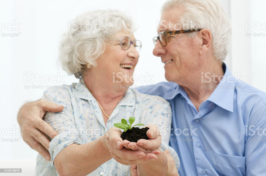 Retirement savings and investements royalty-free stock photo