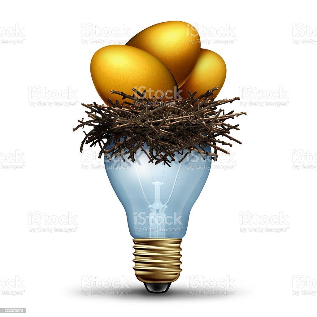 Retirement Savings Idea stock photo