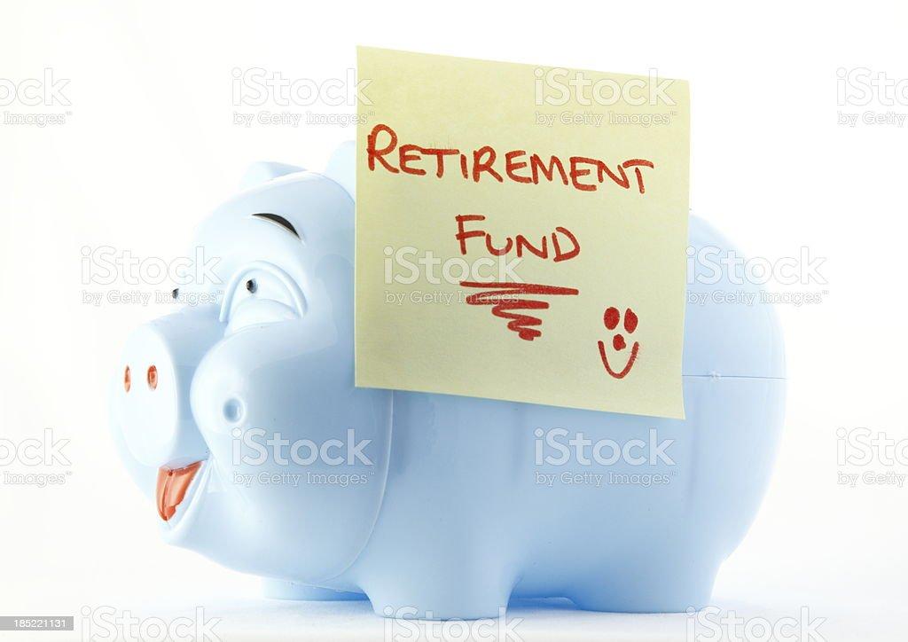 Retirement Savings stock photo