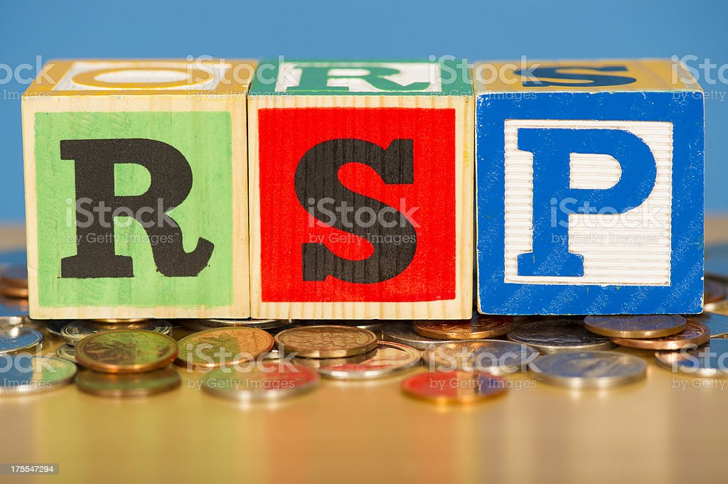 Retirement Savings Plan stock photo