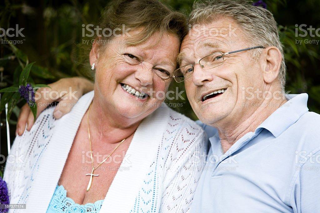 retirement: soul mates royalty-free stock photo