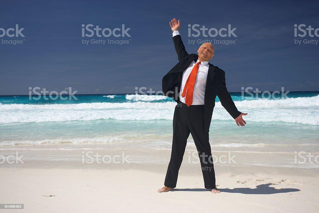 retirement starts now! stock photo