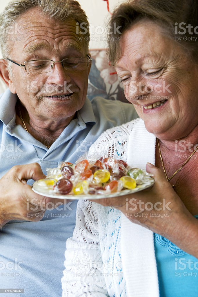 retirement: sweets for my sweet royalty-free stock photo