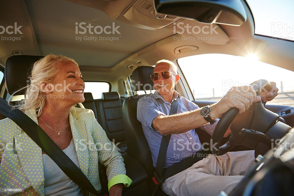 Retirement…let the fun begin! stock photo