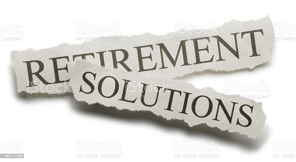 Retiremnet Solutions royalty-free stock photo