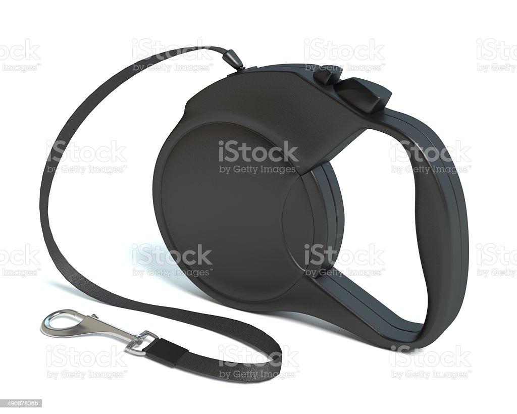 Retractable Dog Leash stock photo