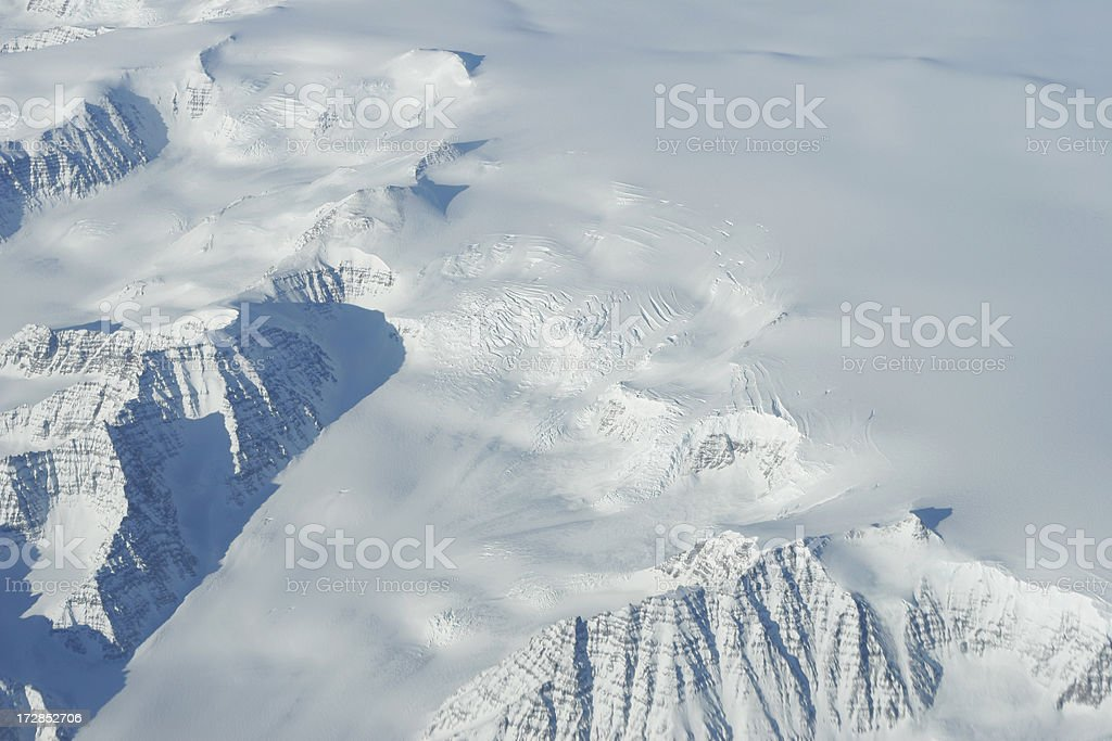 Retreating Glacier royalty-free stock photo