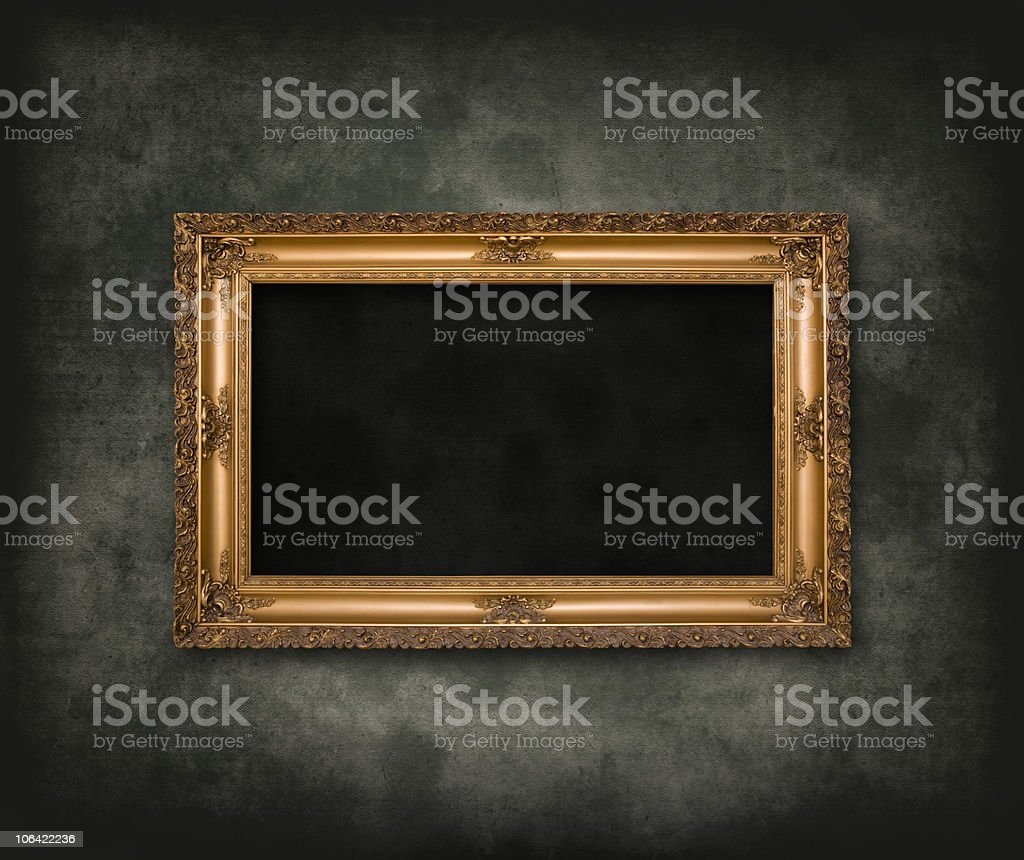 Retro and vintage frame royalty-free stock photo
