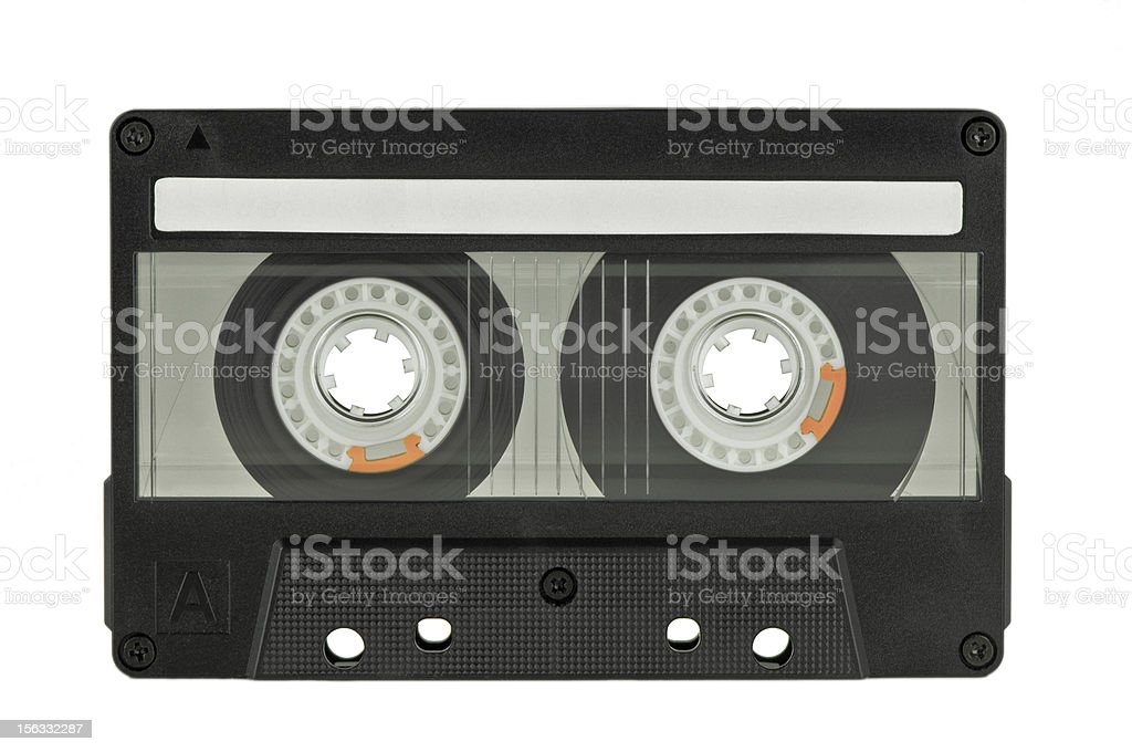 retro audio tape royalty-free stock photo