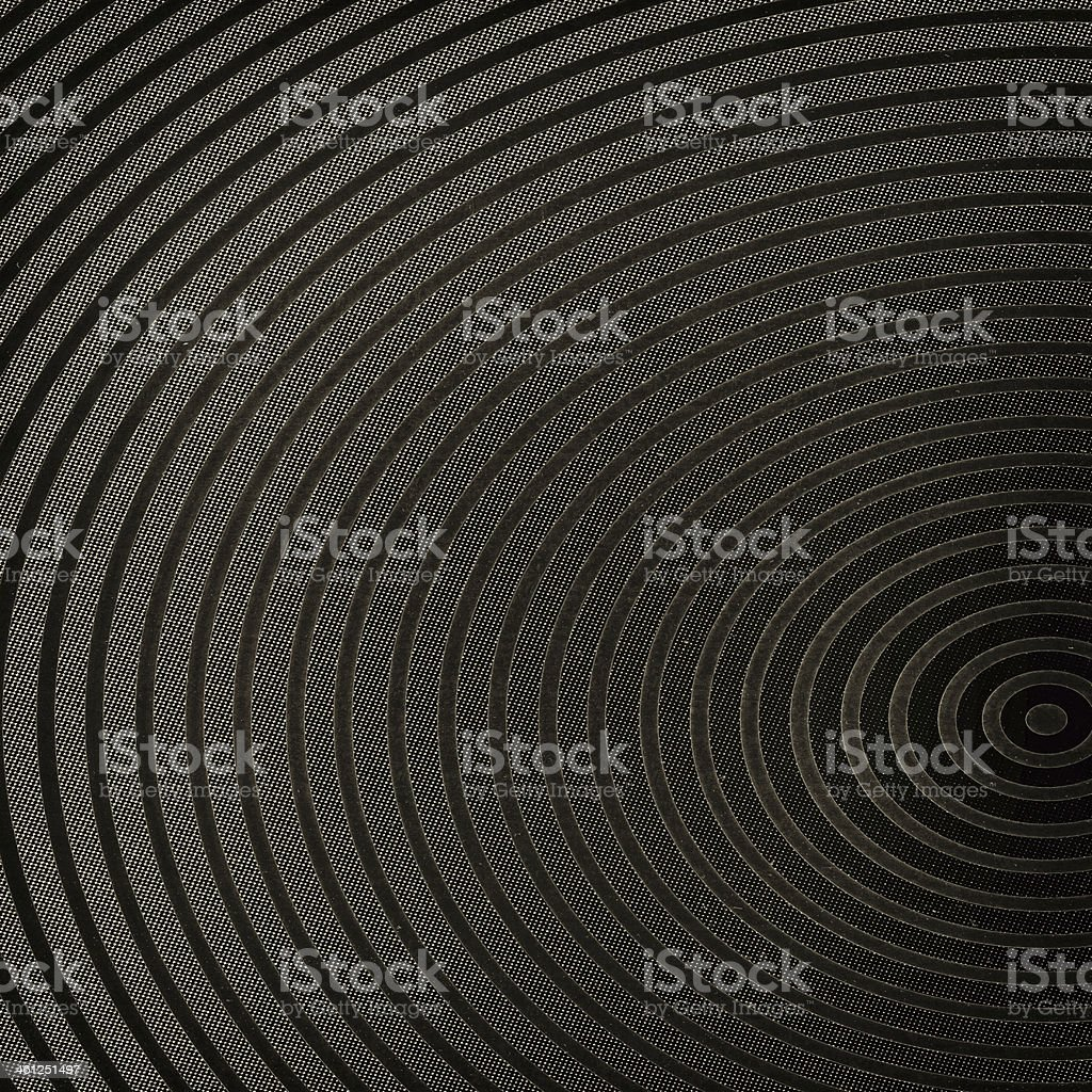 Retro background with circle lines - abstract poster stock photo