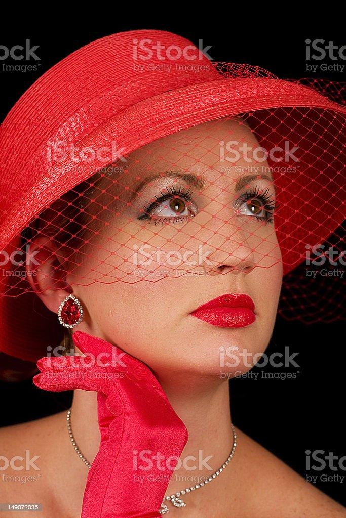 Retro Beauty royalty-free stock photo