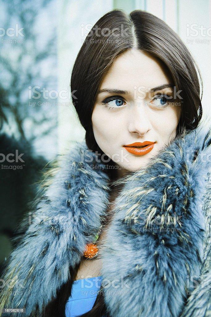 Retro Beauty stock photo