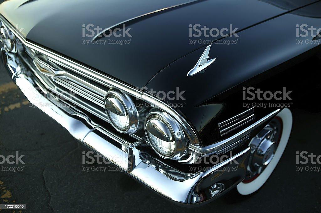 retro black car stock photo