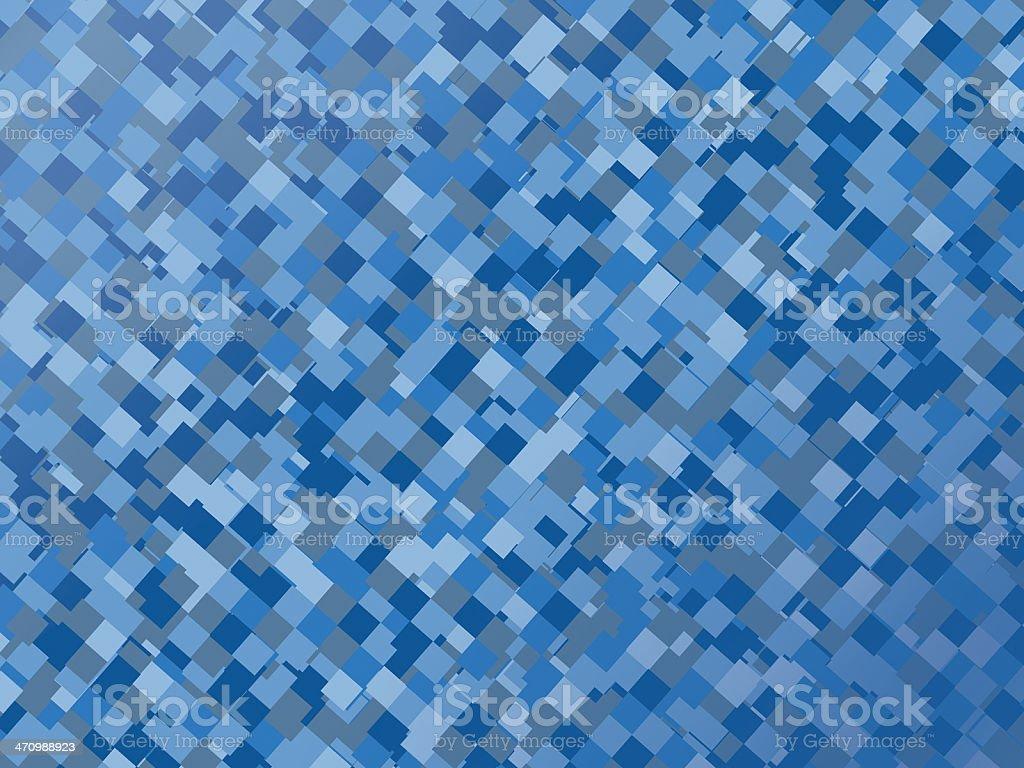 Retro Block - Blue stock photo