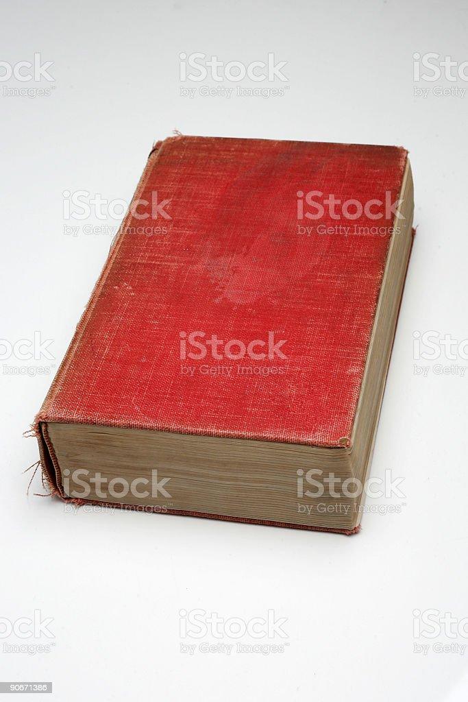 Retro Book 01 stock photo