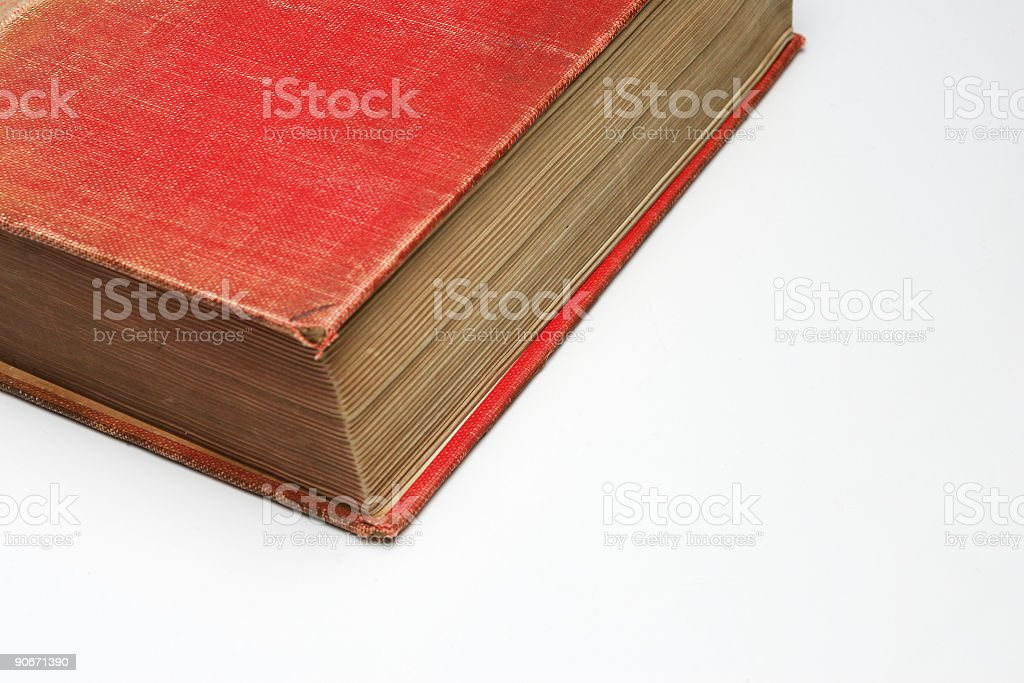 Retro Book 02 stock photo