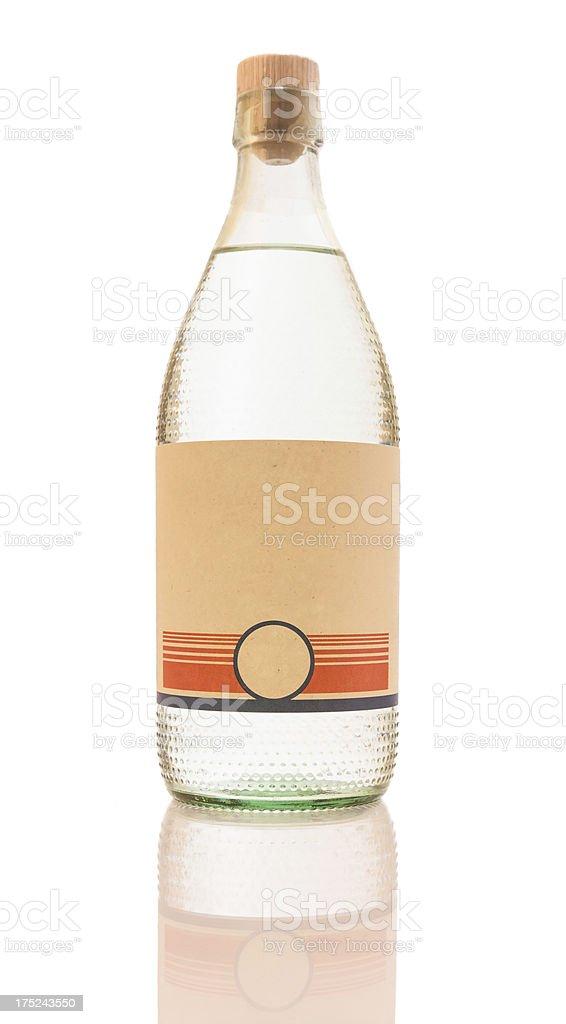 Retro bottle stock photo