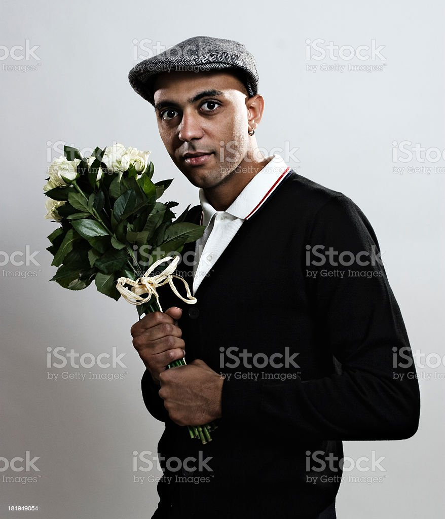 Retro boy royalty-free stock photo