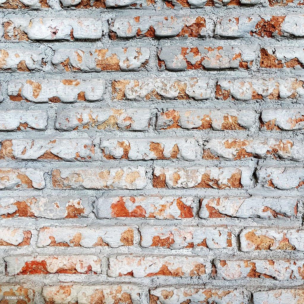 retro brick wall background royalty-free stock photo